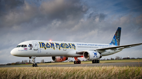 Iron Maiden' Custom Aircraft: aircraft, custom, en, iron